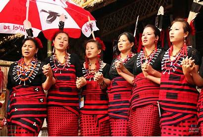 Naga Ao Traditional Nagaland Attires Tribe Attire