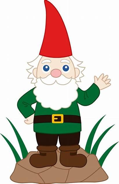 Clipart Gnome Dwarf Clip Garden Clipground
