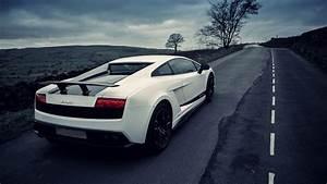 White Lamborghini Gallardo HD Wallpaper | Covers Heat