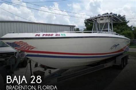 28 Foot Baja Boats For Sale by 1991 Baja 280 Angler 28 Foot 1991 Baja Fishing Boat In