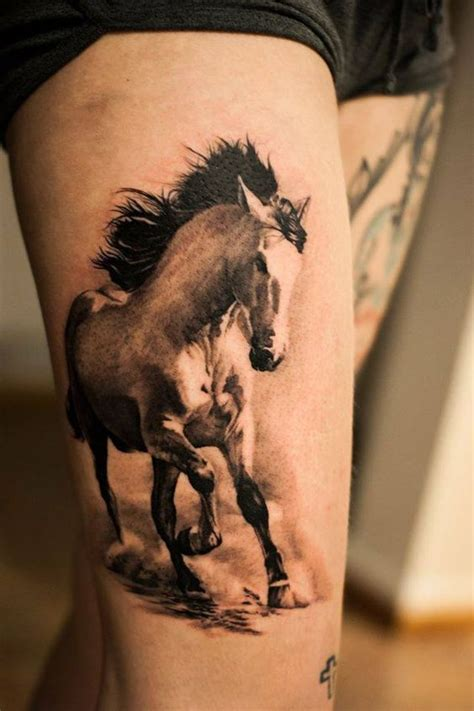12 Horse Tattoos That Let Everyone Know Where Your Passion