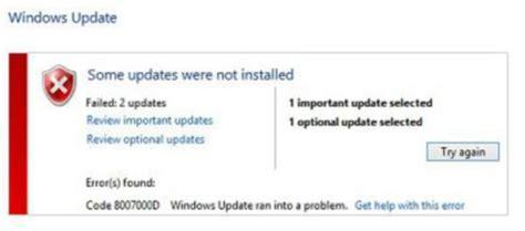 how to fix windows 10 upgrade error 0x8007000d