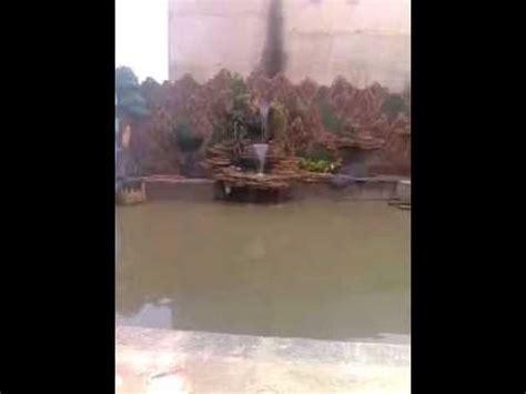 kolam air terjun relief tebing youtube