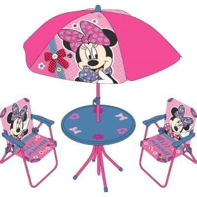 table et chaise minnie table et chaise pliante set de cing parasol minnie