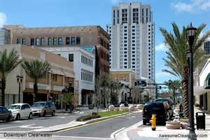 Downtown Clearwater Florida