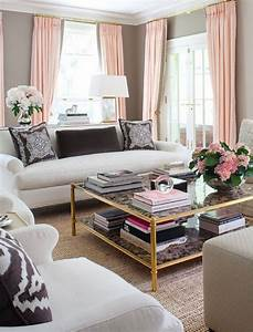 Sybaritic Spaces: Inspiration for a Pink and Grey Living Room