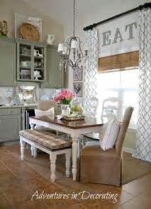 eat in kitchen furniture 15 ways to add to any of window high curtains kitchens and walnut stain
