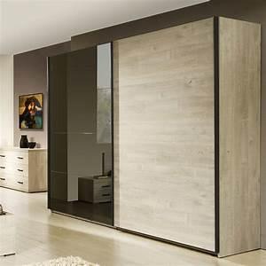 Porte Coulissante Miroir : armoire avec porte coulissante patcha ~ Carolinahurricanesstore.com Idées de Décoration