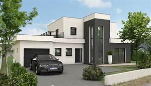 Maison Architecte Plan : maison contemporaine quartz maison d 39 architecte plan maison gratuit ~ Dode.kayakingforconservation.com Idées de Décoration