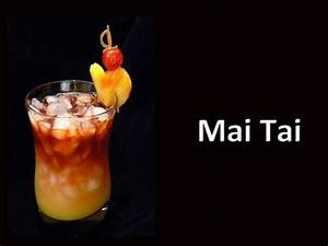 Mai Tai Cocktail Drink Recipe - YouTube