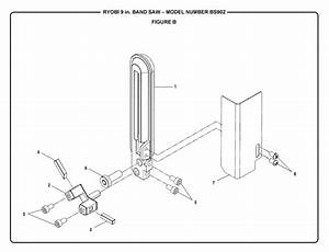 Ryobi Bs902 9 U0026quot  Band Saw Parts And Accessories