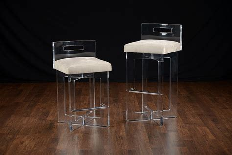 Lucite Counter Stools For Brand New Kitchen Decoration And. Bluestone Custom Homes. Caesarstone Samples. Utility Faucet. Landscape Companies. Faux Fur Rug. Modern Bedside Table. Honed Granite Countertops. Navy Bathroom