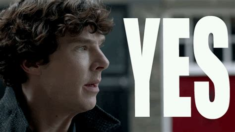 Finder Yes by Benedict Cumberbatch Yes Gif Finder Find And