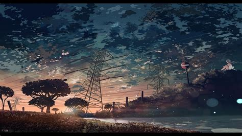 Anime Wallpaper Backgrounds by Anime Utility Pole Wallpapers Hd Desktop And Mobile