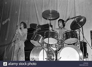 THE WHO: Roger Daltrey and Keith Moon (drummer) performing ...