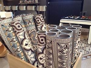 beija tapis vinyle imitation carreaux ciment deco inspi With tapis de sol avec canapés fabrication française