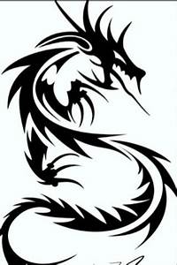 Dragon Images Black And White | Free Download Clip Art ...