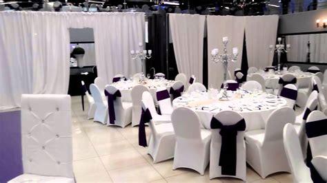 l alhambra salle de r 233 ception mariage soir 233 e blanc noir violet
