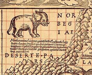 No Old Maps Actually Say 'Here Be Dragons' - The Atlantic