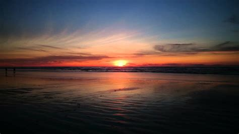 Sunset Newport Oregon Video Youtube