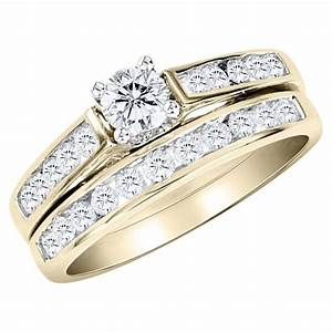 15 best collection of zales diamond wedding bands With canary diamond wedding ring sets