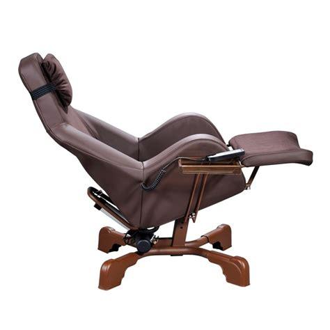 fauteuil coquille electrique premium marron equip age