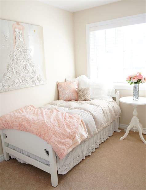 blush bedroom makeover haute healthy living