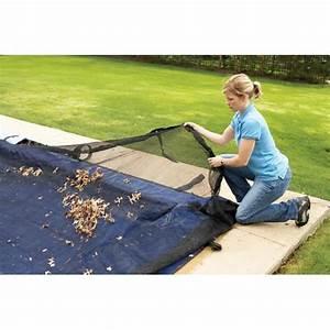 Bache Protection Piscine : filet de protection anti feuille pour piscine 8x4 achat ~ Edinachiropracticcenter.com Idées de Décoration