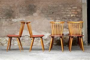 Chaise Bois Vintage : le chaise bistrot vintage meuble ~ Teatrodelosmanantiales.com Idées de Décoration