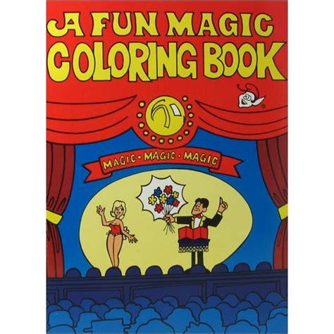 magic trick book coloring pages