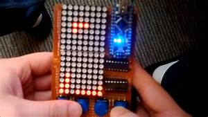 Arduino Project  Tetris Using 2 Led Matrix
