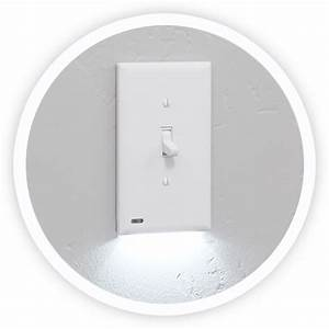 Illuminated Light Switch Cover Plate
