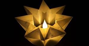 Origami Stern Falten Einfach : basteln und mehr windlicht stern basteln zu ~ Watch28wear.com Haus und Dekorationen