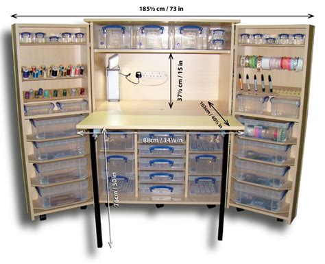 Craft Cupboards Storage by Foldaway Dunster Edition Complete Kit Fold