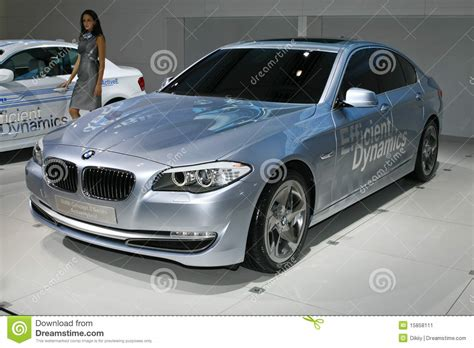 Bmw Concept 5 Series Active Hybrid Editorial Photo Image