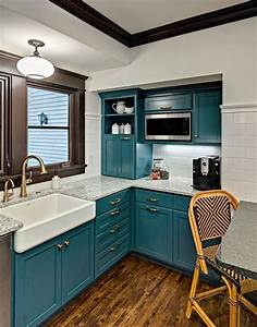 kathryn johnson interiors house of turquoise minnesota With kitchen colors with white cabinets with teal and yellow wall art