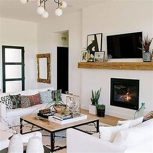 30, Affordable, Apartment, Living, Room, Design, Ideas, With, Black, And, White, Style