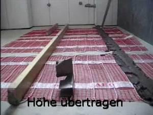 Fußbodenheizung Ohne Estrich : fliesen auf elektr fu bodenheizung youtube ~ Michelbontemps.com Haus und Dekorationen