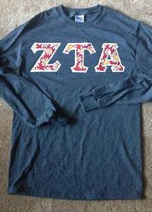 1000 images about zta on pinterest zeta tau alpha With zeta tau alpha letter shirts