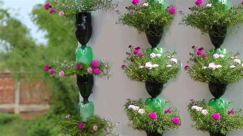 hanging plants  plastic bottles youtube