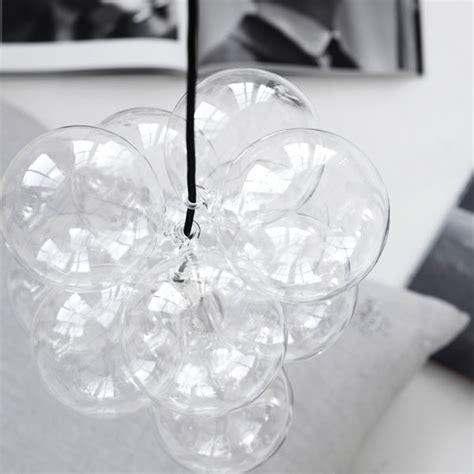 diy lampa med glaskulor fran house doctor blackballoon