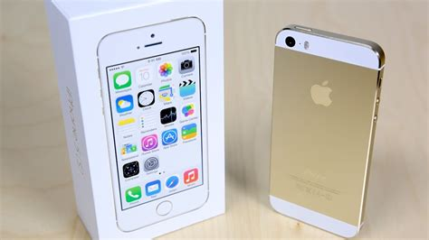 iphone 5 s hülle iphone 5s unboxing gold edition
