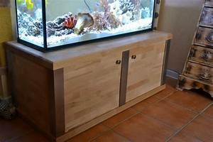 Aquariumschrank Selber Bauen : aquarium unterschrank aus edelstahl und holz aquarien fish tank reef tank ~ Yasmunasinghe.com Haus und Dekorationen