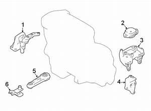 Nissan Rogue Sport Engine Torque Strut Bracket  Rear   2 0