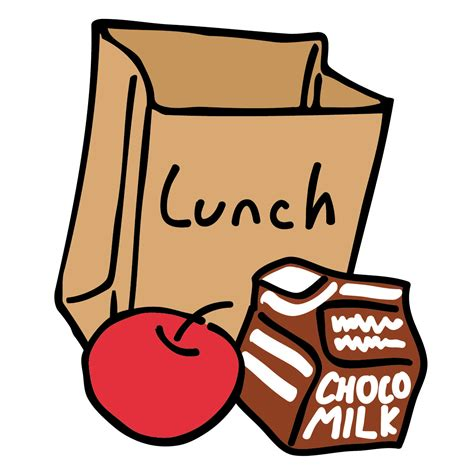 lunch bags for lunch clipart clipart panda free clipart images