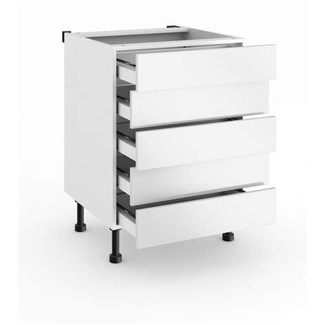 cuisine tiroir meuble de cuisine bas avec 5 tiroirs cuisine