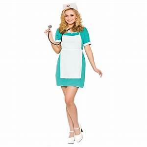 Ladies Hospital Nurse Costume Nurses Fancy Dress Outfit Sizes 6-24   eBay