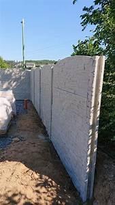 Zaun Aus Beton : zaun aus beton mit drahtverst rkung zaun zaun garten ~ A.2002-acura-tl-radio.info Haus und Dekorationen