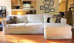 The creative imperative nasty sofa slipcover it for Sectional sofa covers diy