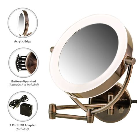 amazon com ovente wall mirror 1 215 10